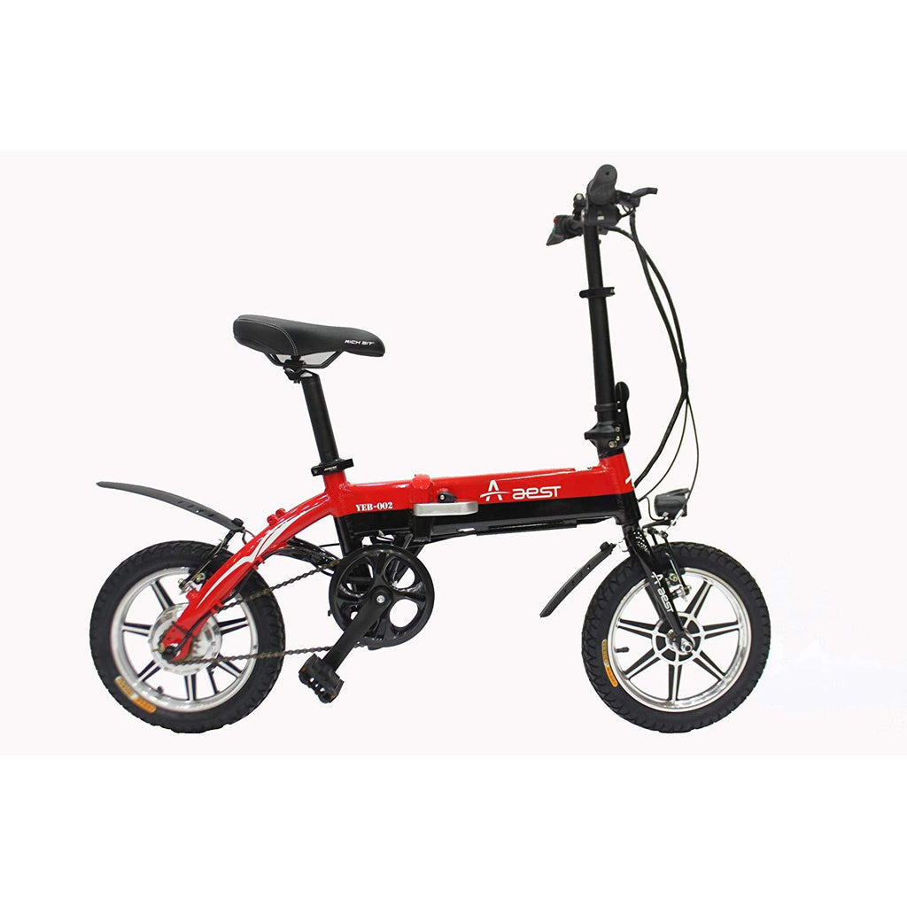 "Foldable Compact 14 ""Ebicycle 36 v lithium battery - rafplay"