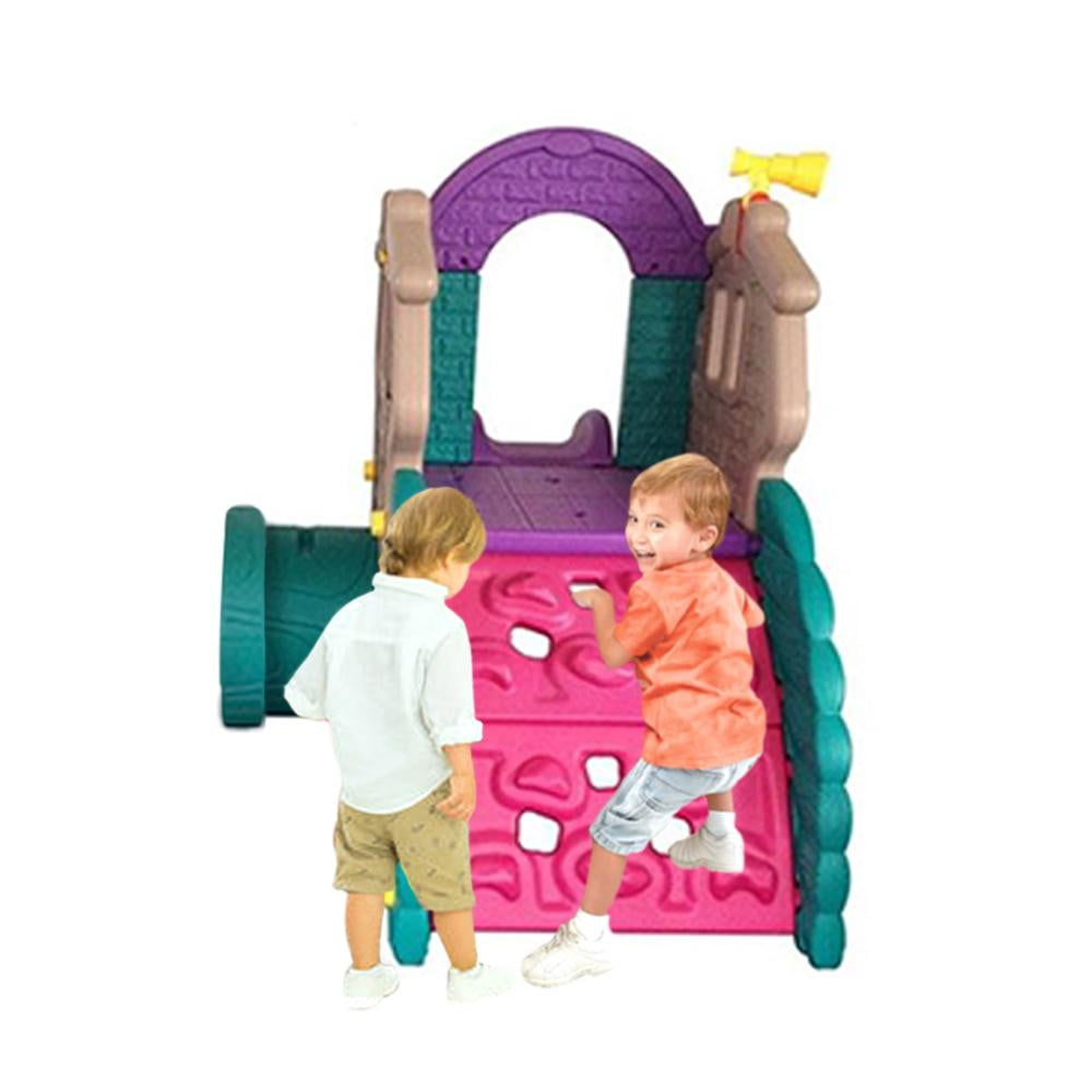 CHEERFUL PLAY SET WITH INFLATABLE BALL POOL  - Assorted  Colors - rafplay