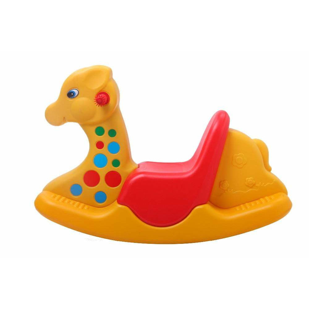 Colorful GIRAFFE ROCKER - Assorted  Colors - rafplay