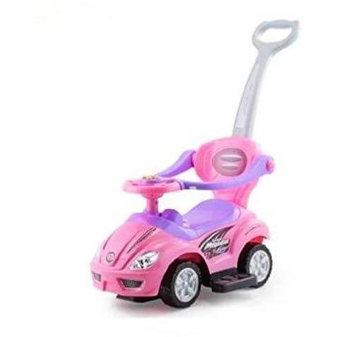 Ride On Raf  Snuggle Cuddle Musical Push car with Handle For Easy Steering - rafplay
