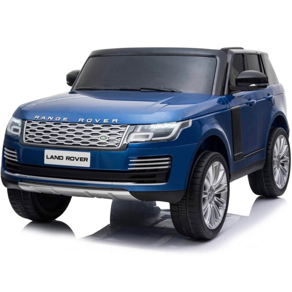 Blue 24 v Premium Range Rover Vogue Two Seater Car for kids