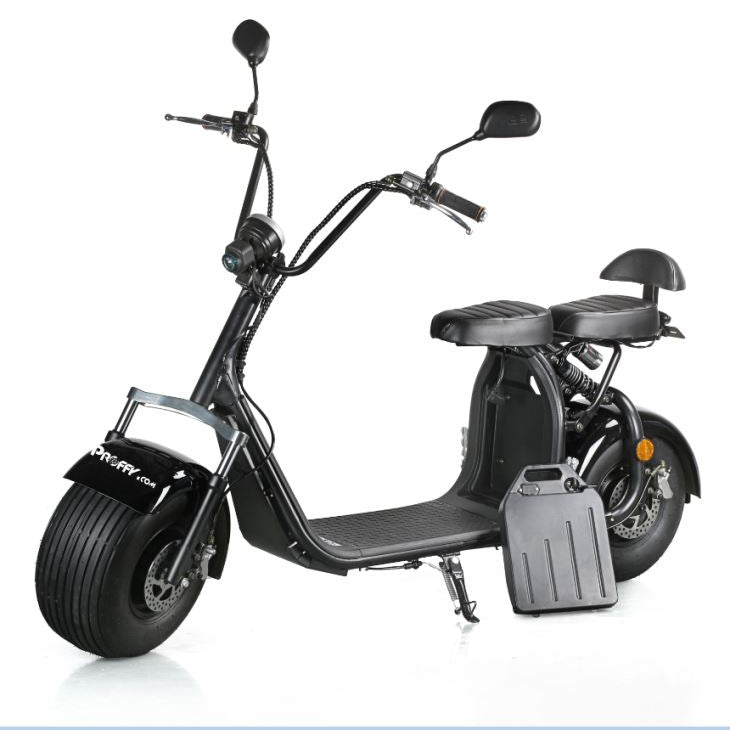 RAFPLAY  COCO  HARLEY STATION SCOOTER WITH 60 V  REMOVABLE BATTERY