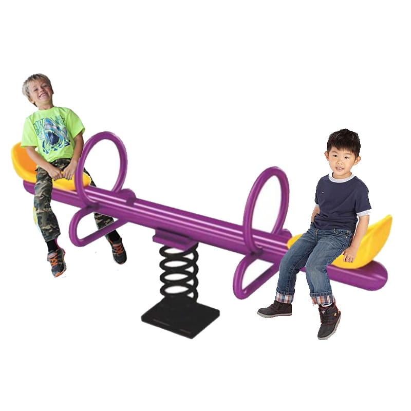 Megasatr  Happy Spring Metal See Saw - 2 seats  - Assorted  Colors - rafplay