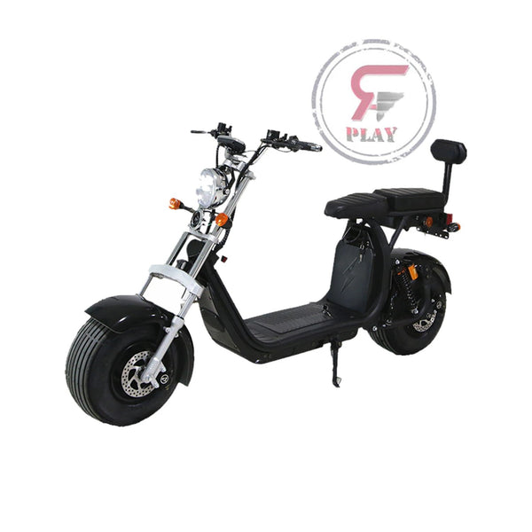 TRENDY FAT WHEELS 60 v COCO HARLEY SCOOTER WITH  REMOVABLE BATTERY