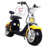 TRENDY FAT WHEELS COCO SCOOTER WITH  REMOVABLE BATTERY & LIGHTS - 60 V 1500/2000 - Rafplay