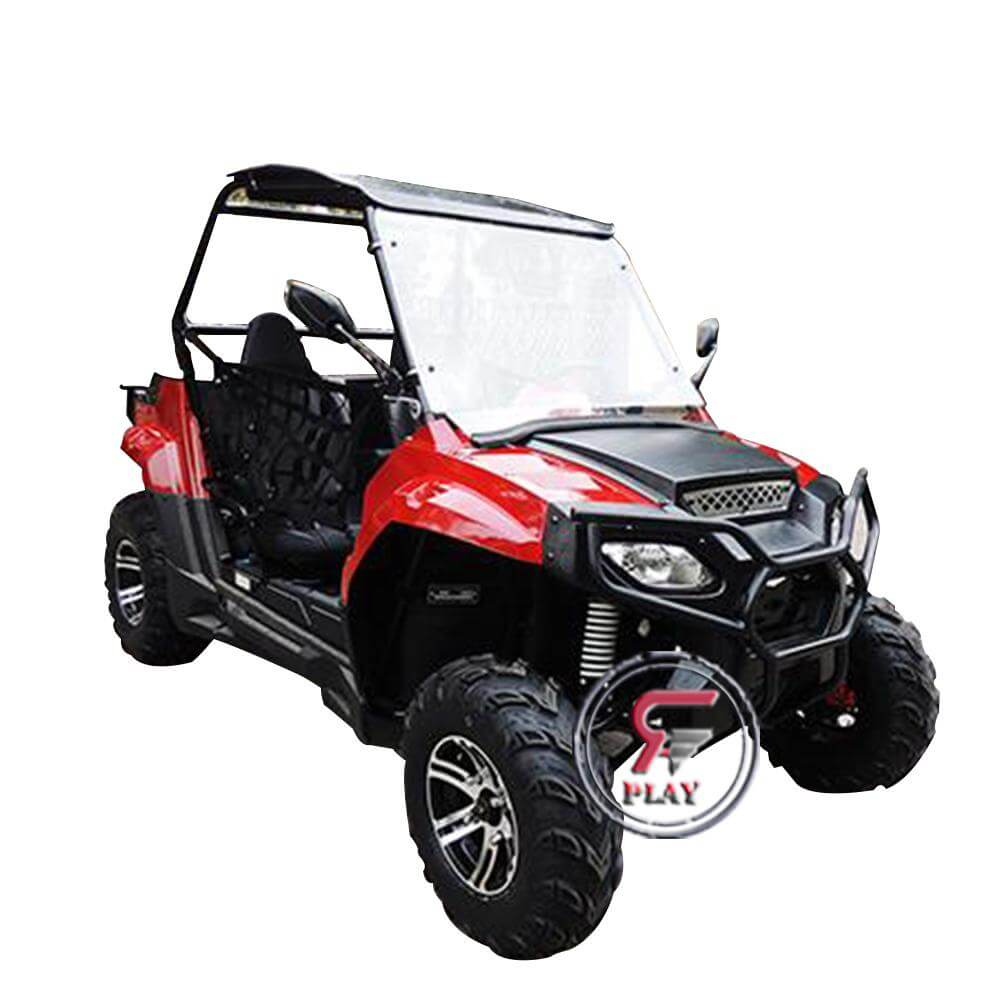 Raf 200 Cc Off Road Fuel Utv Buggy 2 seater - Red - rafplay