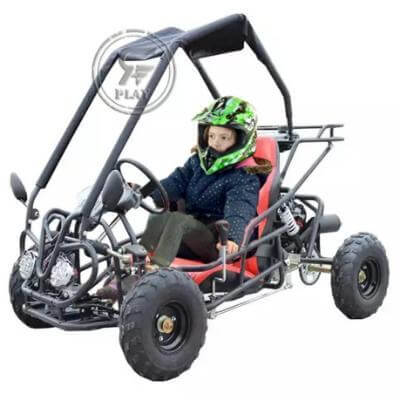 RAF Off Road Fuel Go Kart Buggy 110 cc - Black - rafplay