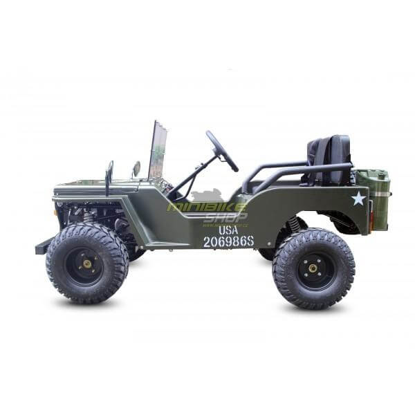 Raf Off Road Fuel 150 cc Mini Jeep Land Rover Buggy - Green - rafplay