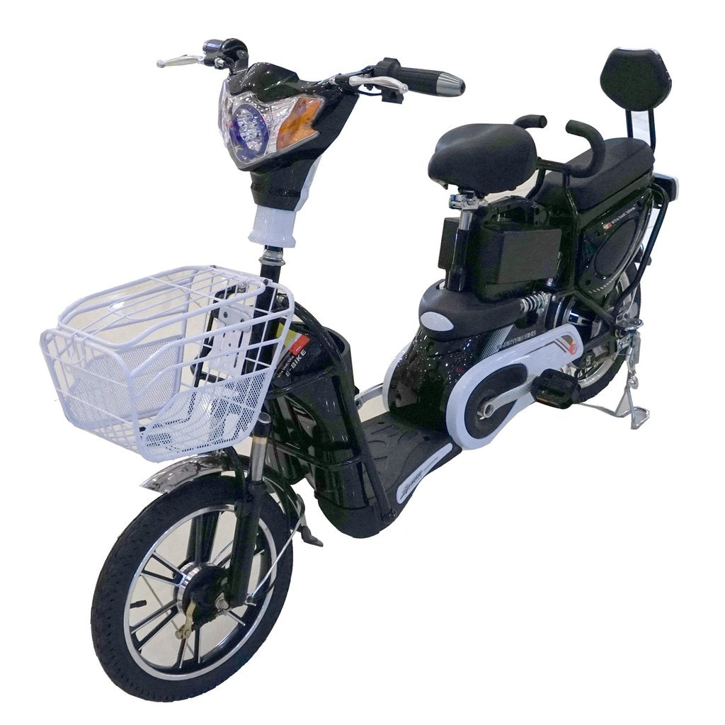 Raf Electric 48 v Pedal scooter Bicycle   scooter with basket