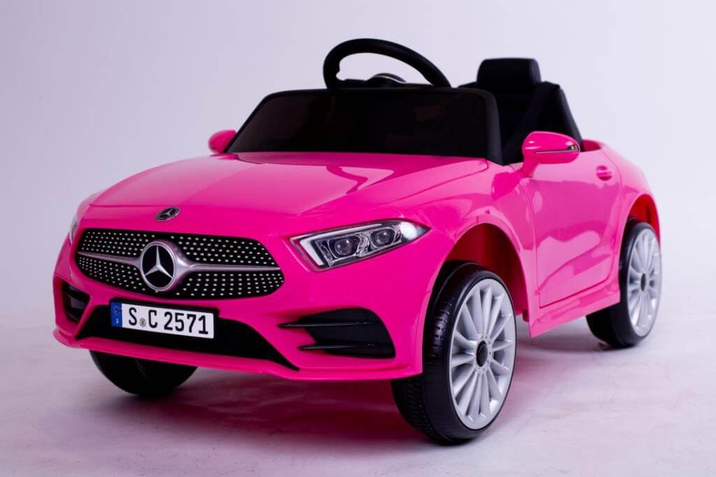 Ride on 12 v Licensed Mercedes CLS 350 children's electric vehicle 2 motors 12V, music and sound effects -