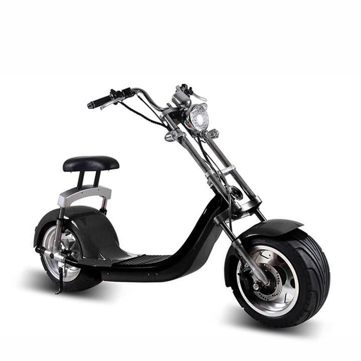 King Henry 60 v 1000/2000 watts Fat Tyre Harley scooter 60 kmph with Removable Battery - Rafplay