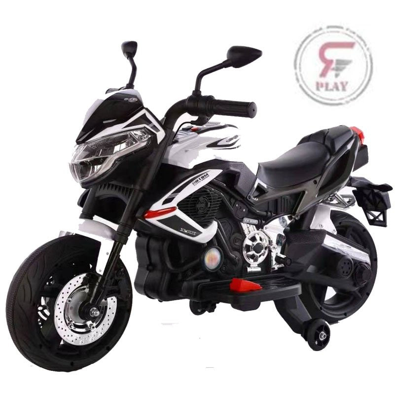 Ride on  Raf Suzuki  styled Victory 12 v  Ride on Motorcycle Rubber Tyres with Foot accelerator