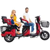 Megawheels 60v Electric passenger tricycle Scooter  for adults