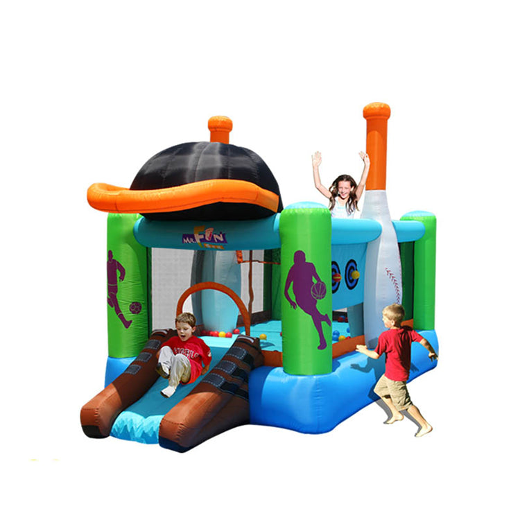 Inflatable Shuttle Space bouncer castle With slider