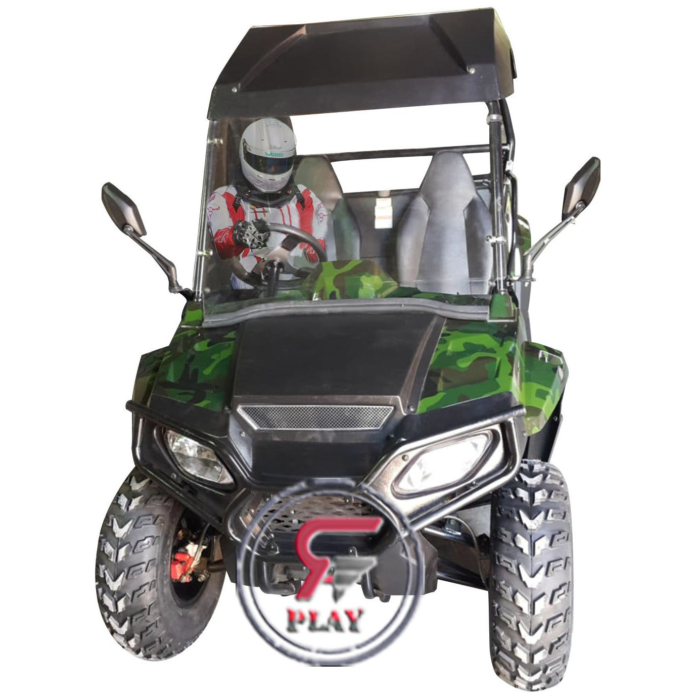 Raf 200 Cc Off Road Fuel Utv Buggy 2 seater - Army Green - rafplay