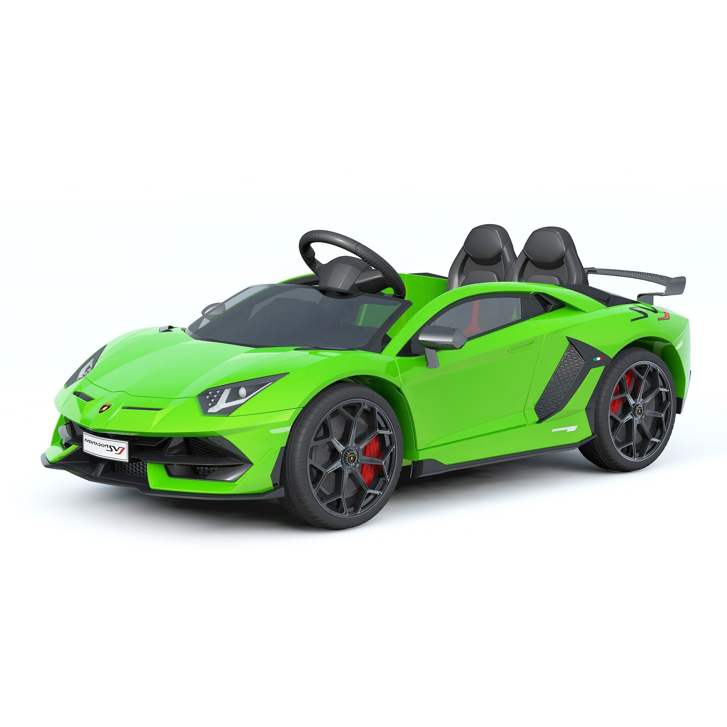 Ride On  Licensed Lamborghini 12 v Sports Car - rafplay