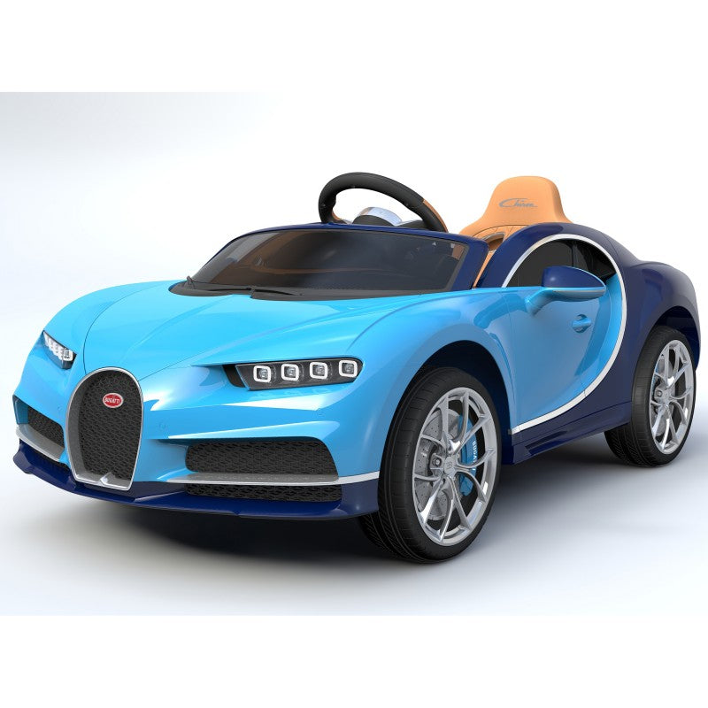 Ride On  LICENSED  ACE BUGATTI 12v Car - rafplay