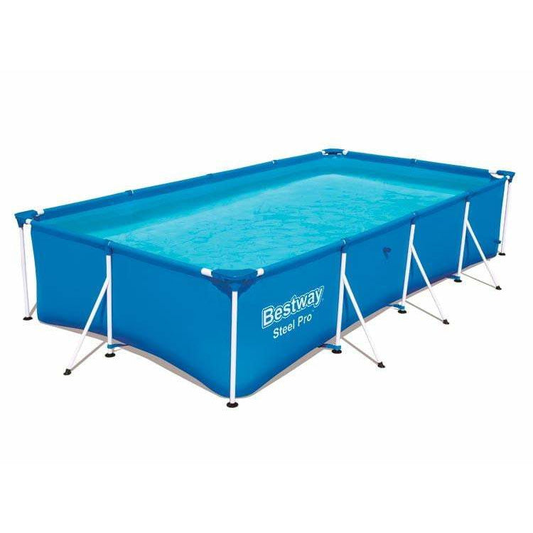 Bestway 56041 Steel Frame Pool Splash Jr. 239 x 150 x 58 cm - rafplay