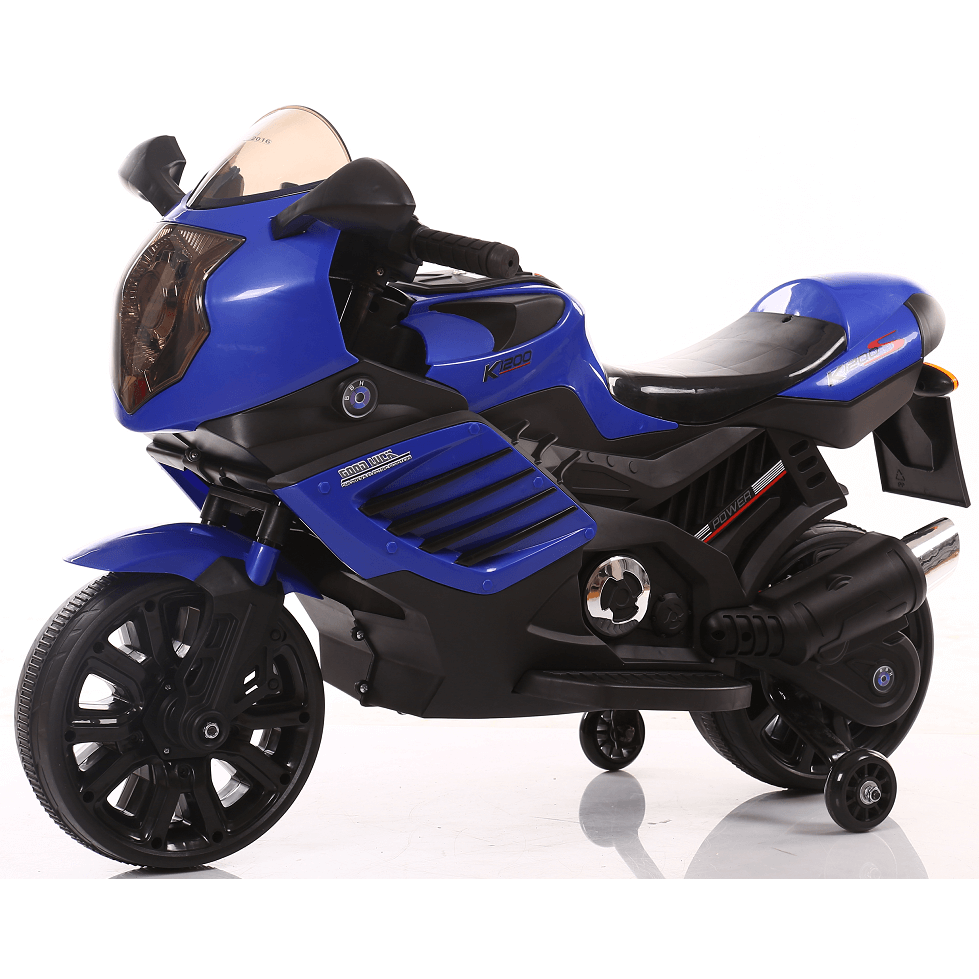 Ride on 12 v Raf  GroovE N move Motorbike with training wheels - rafplay