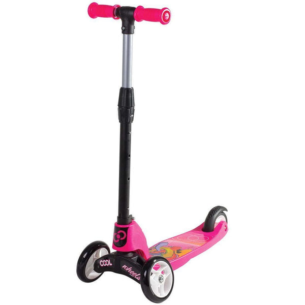 COOl Wheelie Easy Foldable   Scooter 2 in 1 scooter - Pink - rafplay