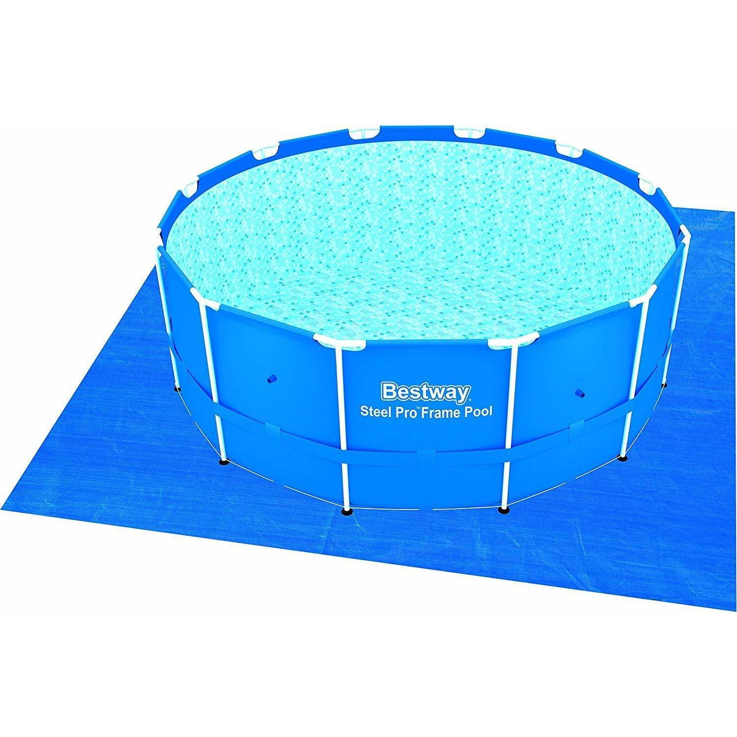 Bestway 56414 - 3.66M X 1.22M STEEL PRO™ ROUND POOL SET - rafplay
