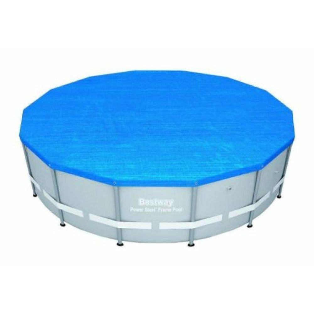 "Bestway 56478 - 14' X 48"" POWER STEEL™ ROUND POOL SET - rafplay"
