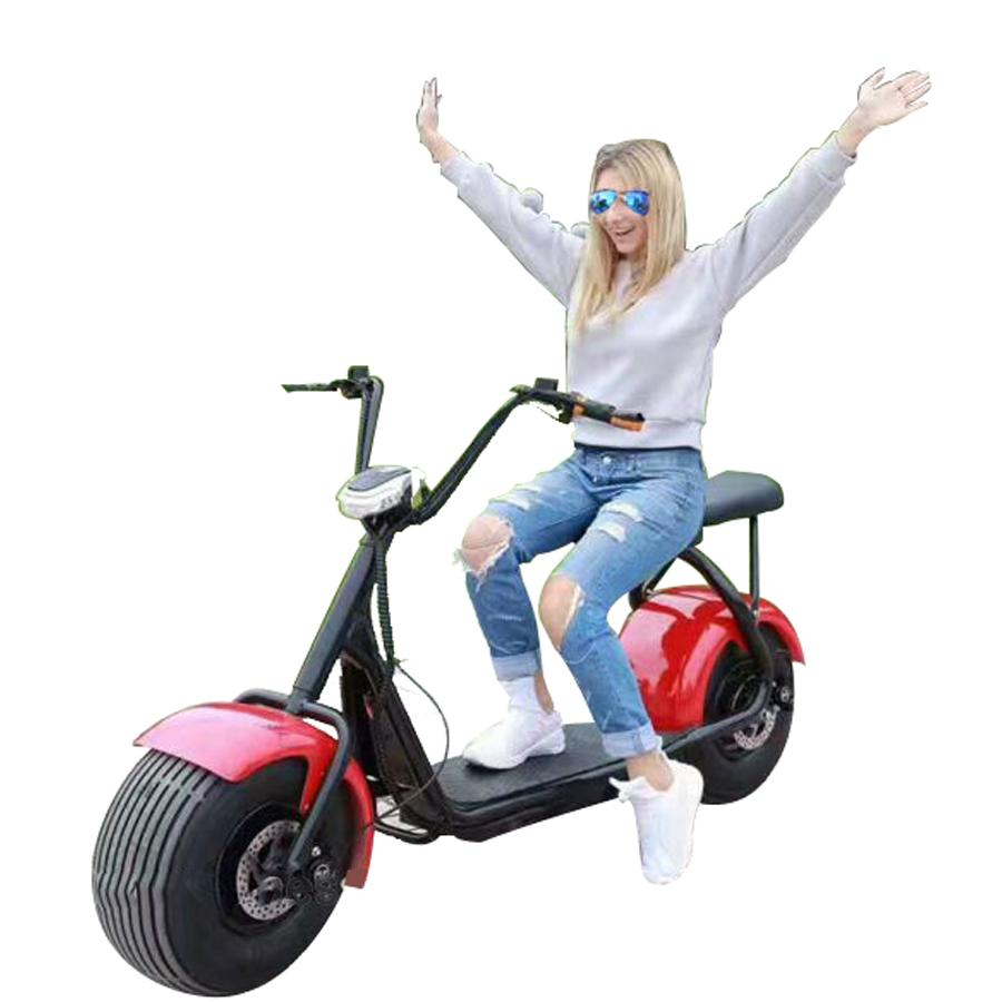RAF Coco City Harley 60 v Fat Tyre Scooter | Adults Electric Scooter