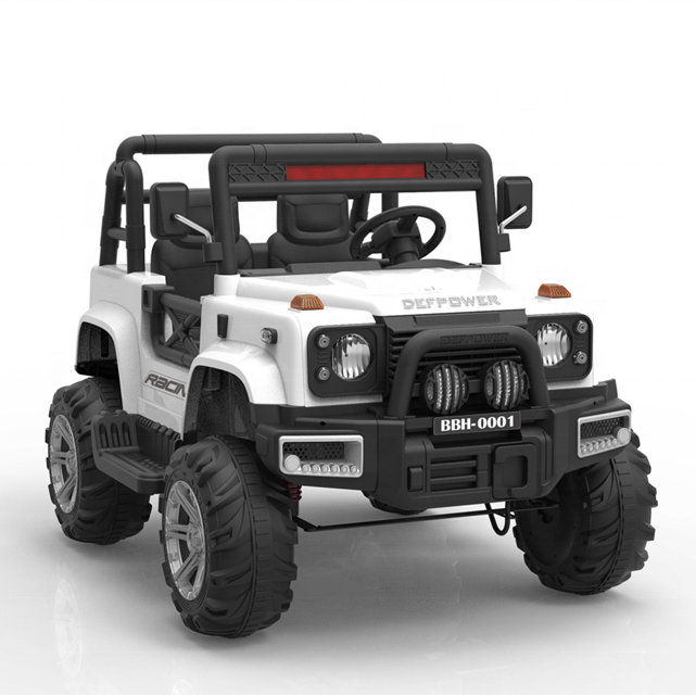 Raf 2 seats Monster Truck Ride On 4x4 with leather seats and Rubber tyres - rafplay
