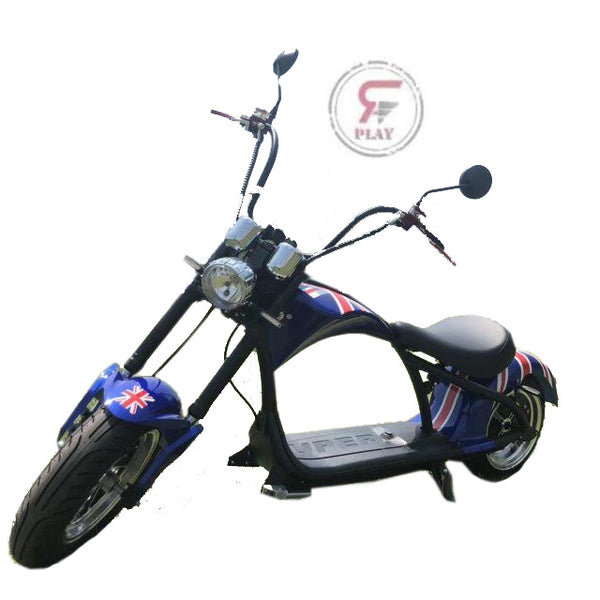 Coco City Chopper scooter 60 v 2000 watts - Rafplay | Adults Electric Scooter
