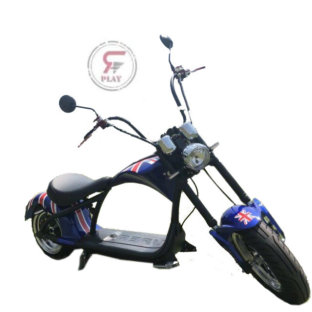 Coco City Chopper scooter 60 v 2000 watts - Rafplay
