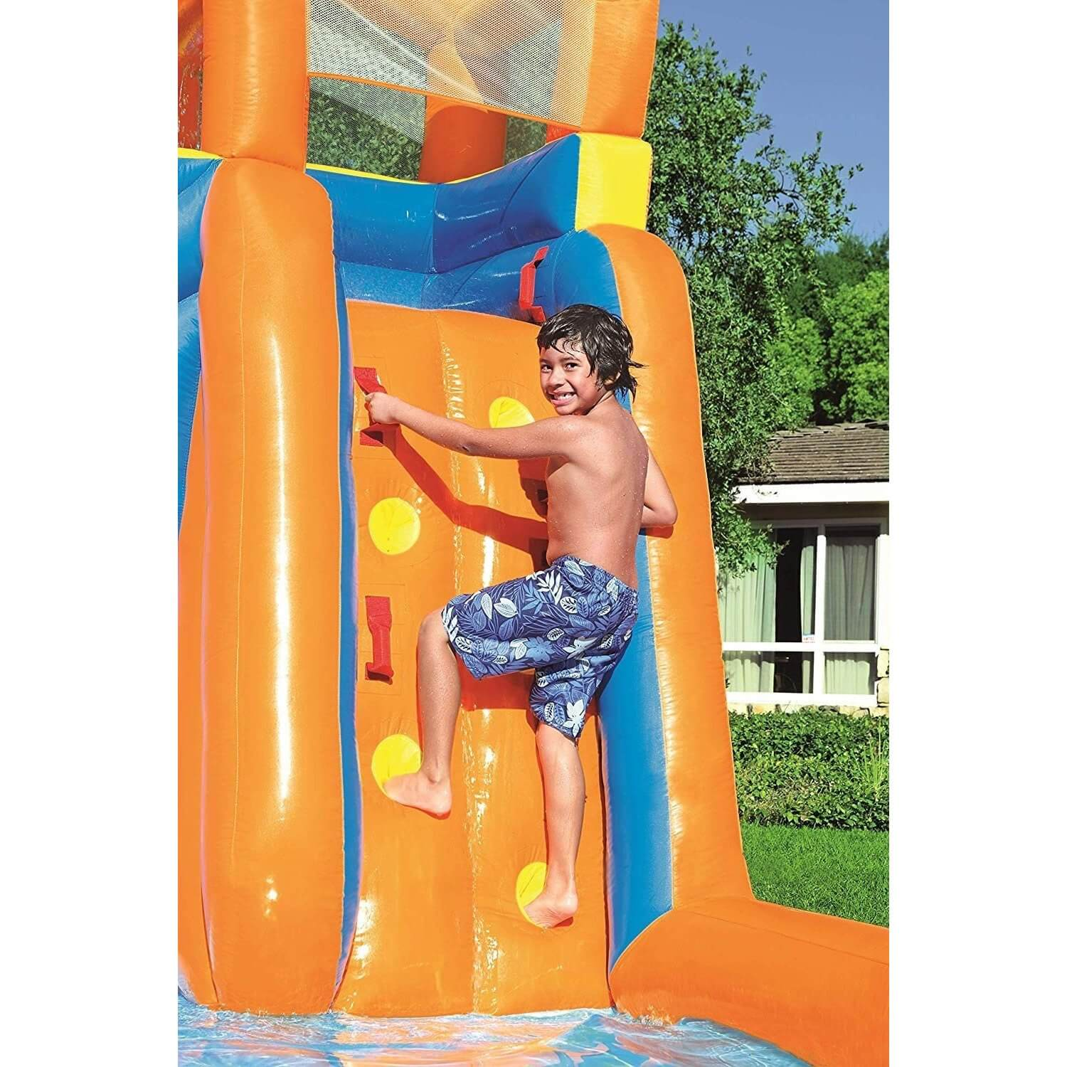 Bestway Blast zone inflatable H2OGO Hydro water park with slider