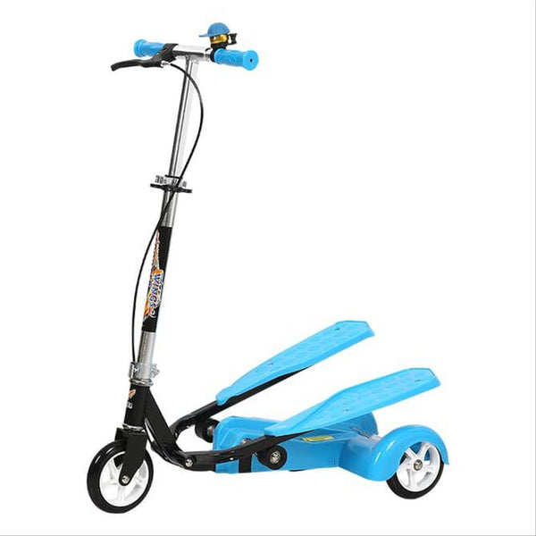 Scissor Scooter Three Wheel Pedal Scooter For Kids