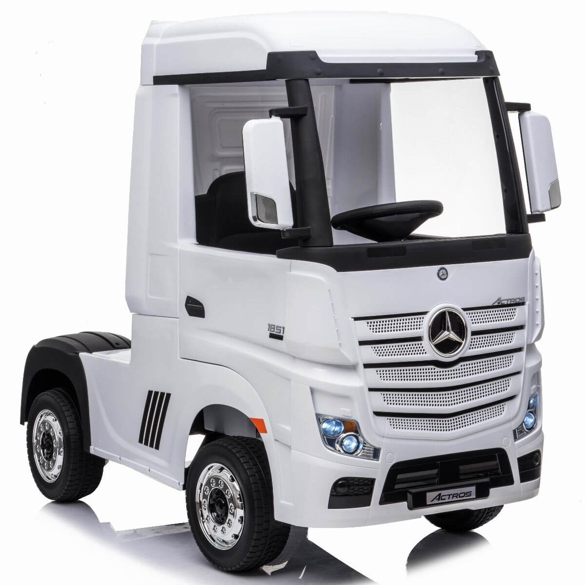 Ride On Licensed Raf Mercedes Benz Actros Truck 12 v