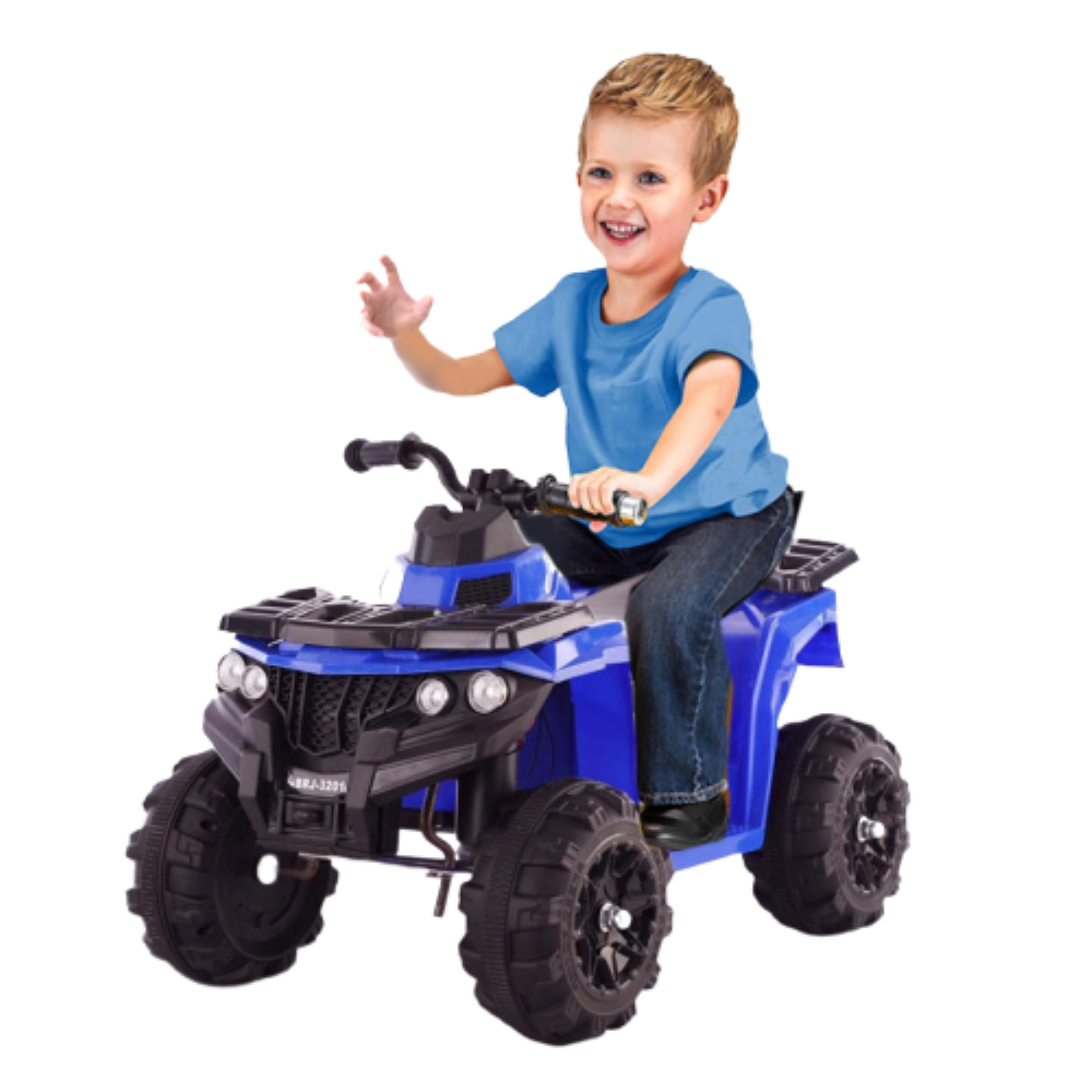 Ride On 6V Mini Quad Bike For Young Off roaders