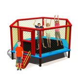 Megastar Sky Zone 10 Ft , 12 ft, 8 ft, Hexagon Trampoline with sturdy Ladder