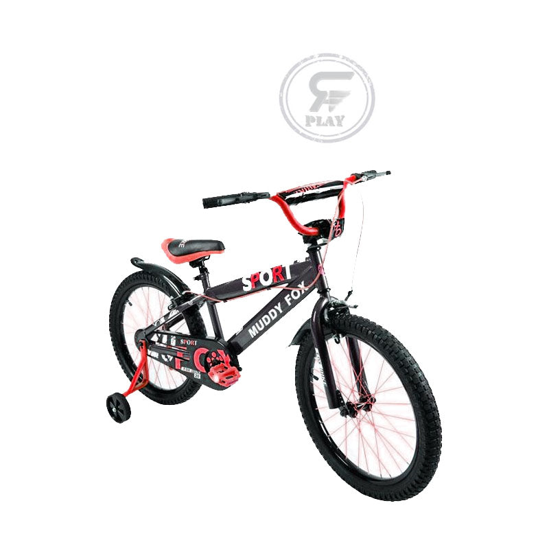 MEGAWHEELS Foxster  20 inch / 12 inch Stylish Kids  Bike with Training wheels-  ASSORTED