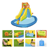 Inflatable Mount Splashmore mega water park by h20go