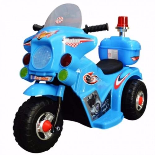 Raf Electric Ride on kid Motorz Polizei motoBike for kids - rafplay