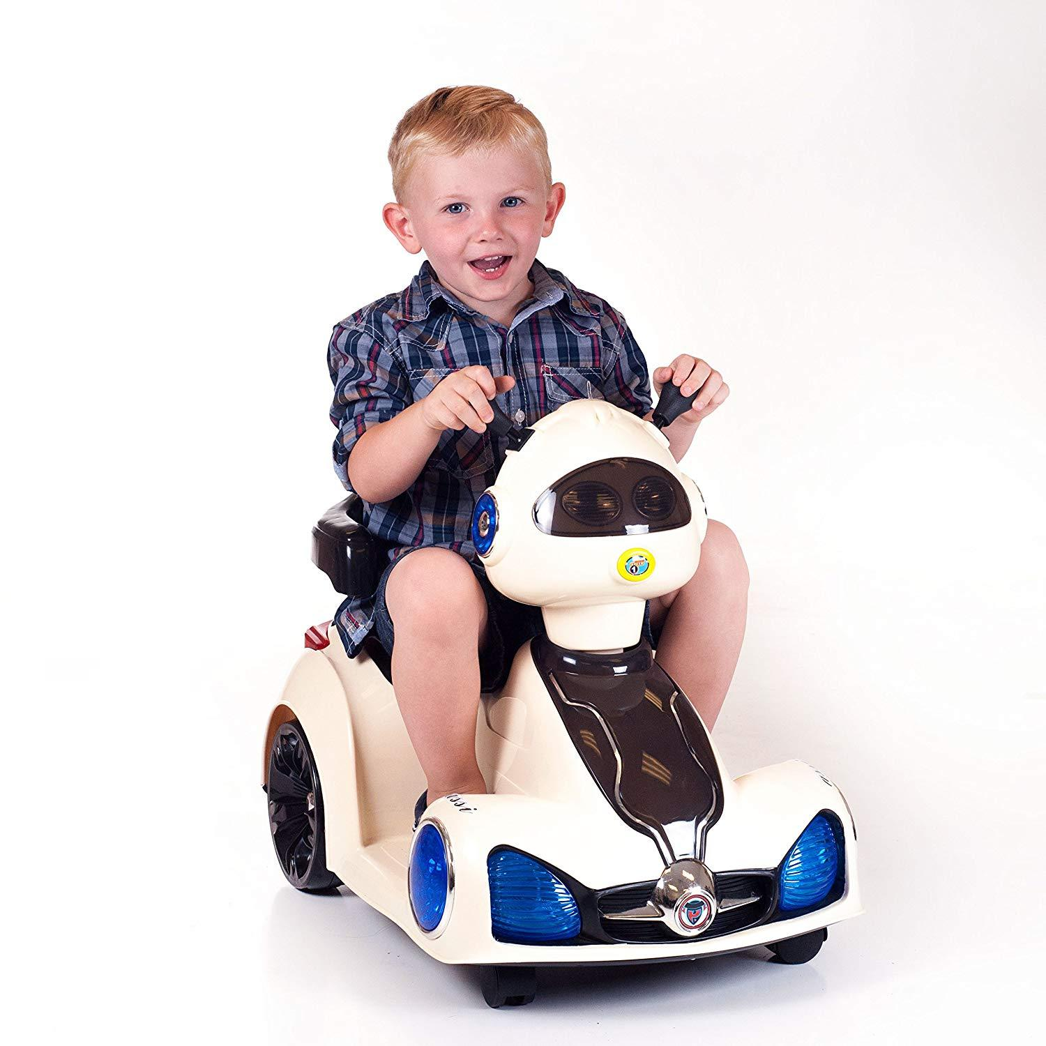 Raf Kids Bike styled as Space Car Electric Ride on for kids - rafplay