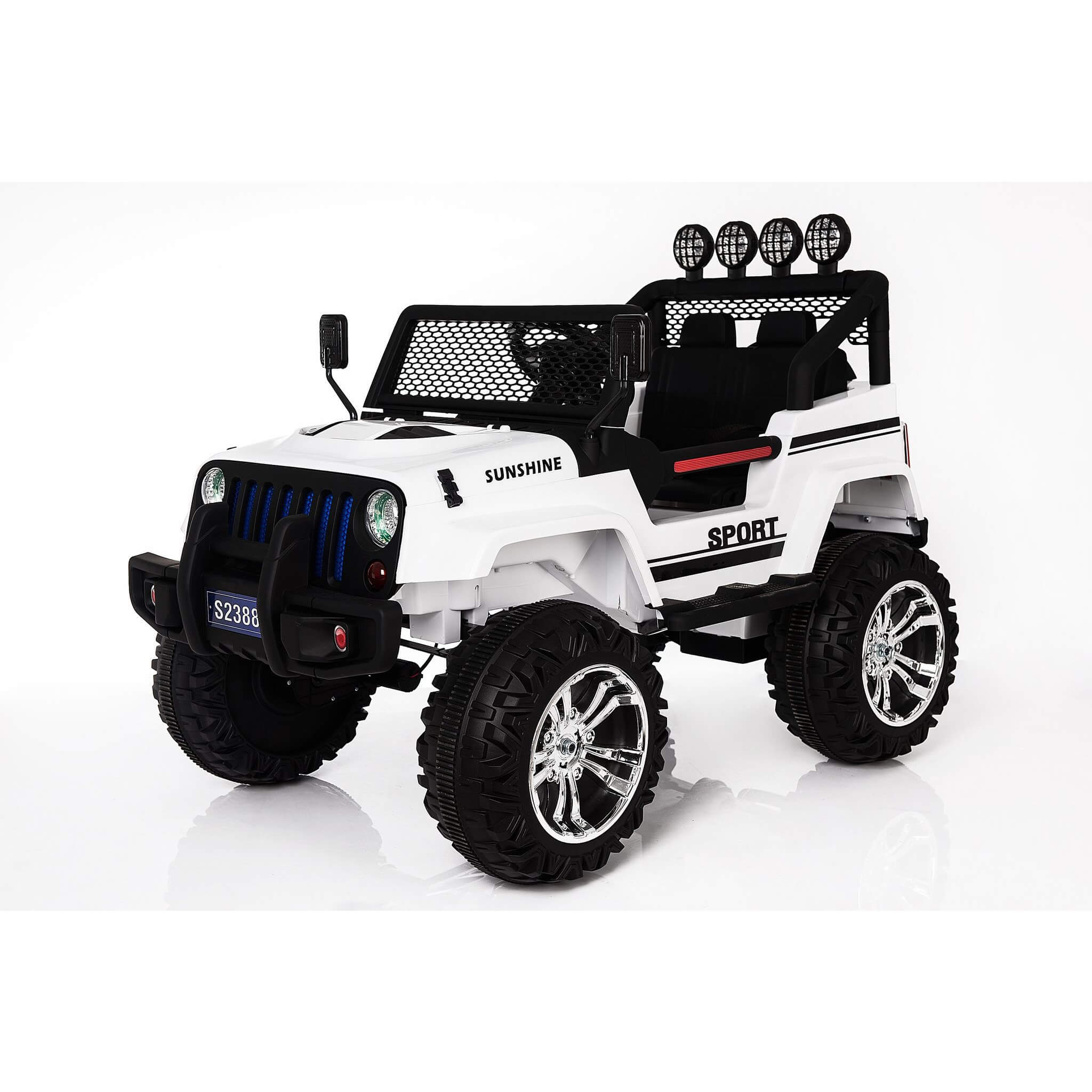 RAF XTREME FUN 12V RIDE ON SUV JEEP WITH OPEN DOORS FOR KIDS - rafplay
