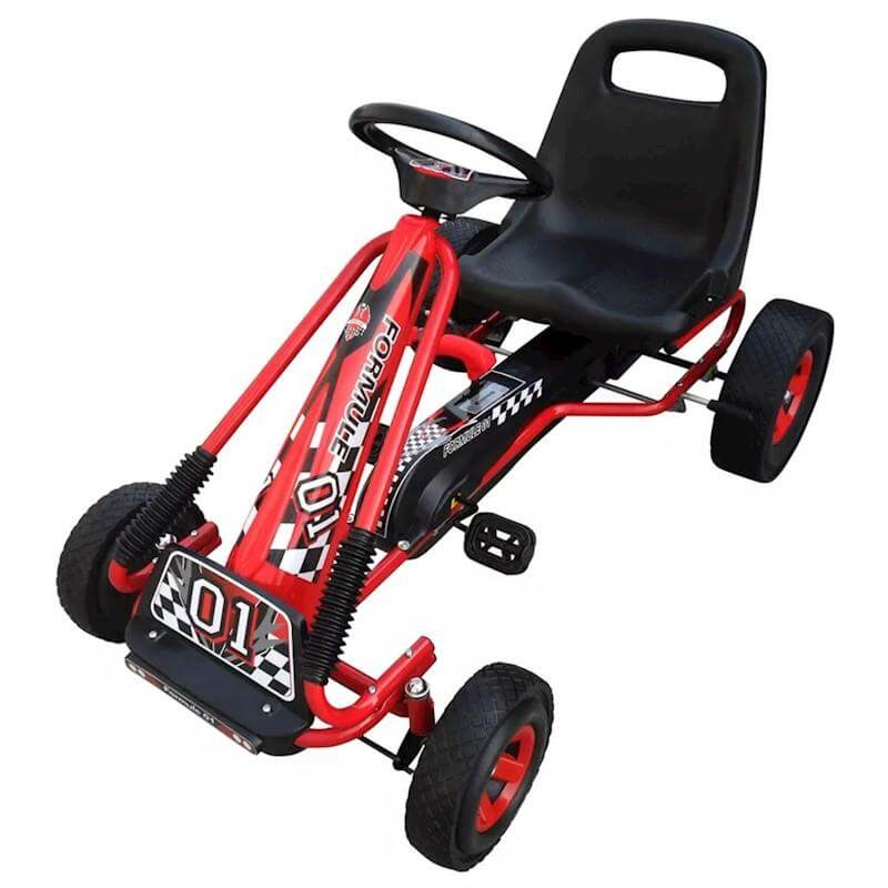 Rafplay Kids Racing Pedal Go kart Ride on for kids - rafplay
