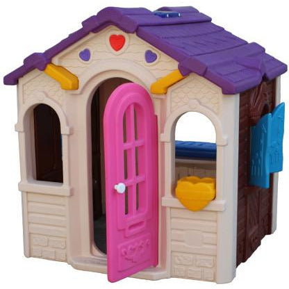 Sweety Cutiepie Toy Playhouse Outdoo white &  Pink - rafplay