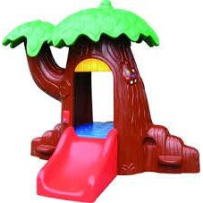Shady comfort PLAY TREE HOUSE  BROWN - rafplay