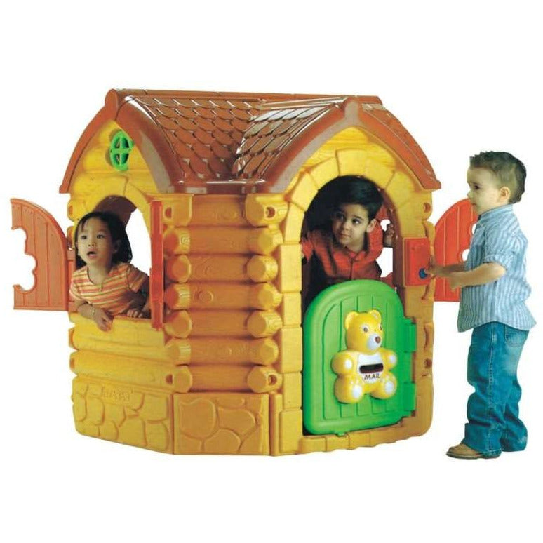 Log On Tiddy  Teddy Kids Playhouse - rafplay