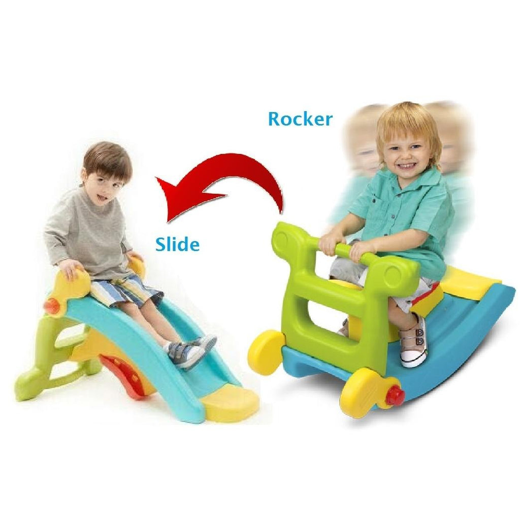 rock and slide Twin Toy 2 in 1 - rafplay
