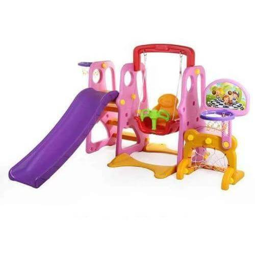 7 In 1 Kids Play Set with Swing & Slide - rafplay