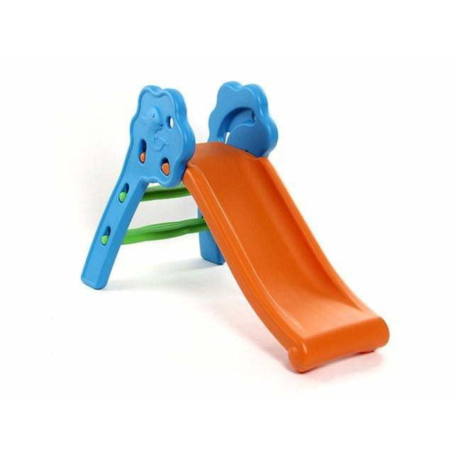 Baby Slide With Hoop- Asorted colors - rafplay