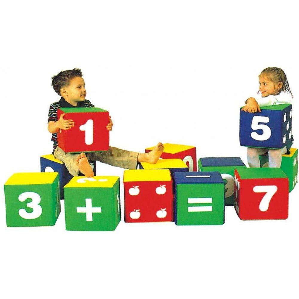 Soft Play Toys Kids Numbers  - rafplay