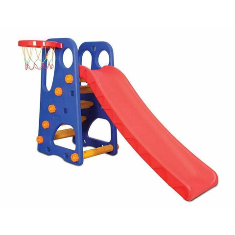climb SLIDE & Dunk with Basketball net  3 IN 1 PLAYGround - rafplay