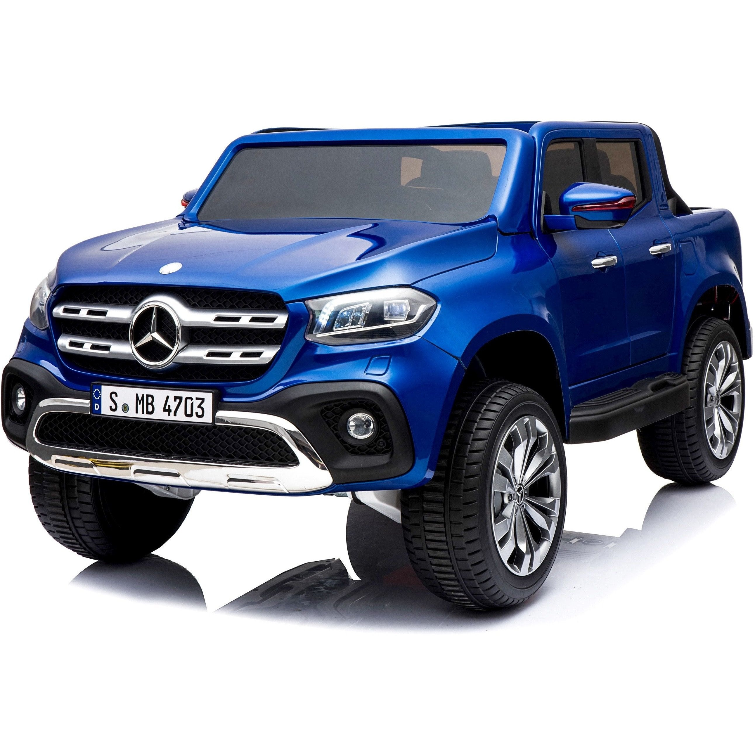 Raf Licensed Ride on Mercedes 2 seater - X-Class 4WD Children's  Pickup - rafplay